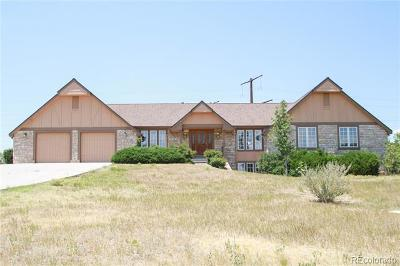 Castle Rock Single Family Home Active: 8187 North Pinewood Drive