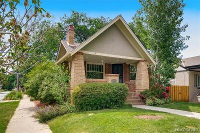 Denver Single Family Home Active: 1403 Elm Street