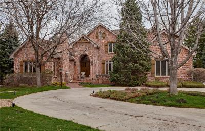 Cherry Hills Village Single Family Home Under Contract: 99 Glenmoor Lane