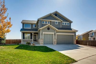 Castle Rock Single Family Home Under Contract: 2088 Selenite Court