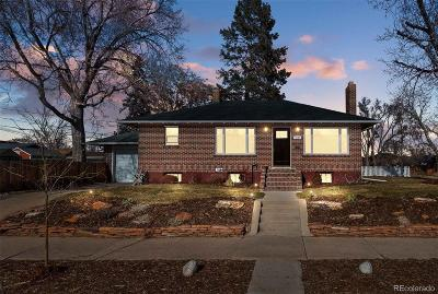 Denver Single Family Home Active: 4121 West 49th Avenue