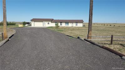 Byers Single Family Home Active: 67955 East 48th Avenue