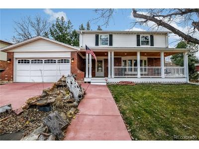 Denver Single Family Home Active: 1760 South Oneida Street