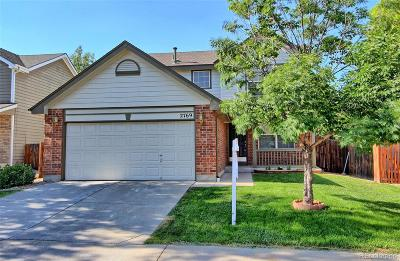 Broomfield Single Family Home Under Contract: 2769 Fernwood Place