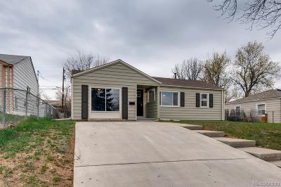 Aurora CO Single Family Home Active: $319,990