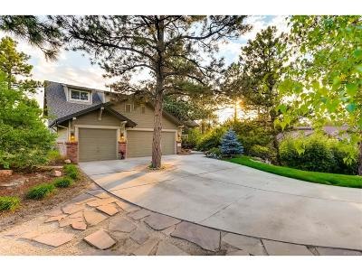 Castle Pines Single Family Home Under Contract: 1237 Havenwood Way