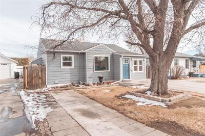 Denver Single Family Home Active: 230 South Clay Street