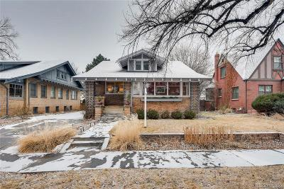 Washington Park Single Family Home Under Contract: 1253 South High Street