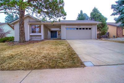 Centennial Single Family Home Under Contract: 8230 South Kearney Street