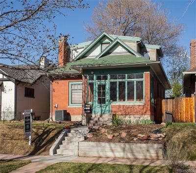 Denver Single Family Home Active: 919 South Ogden Street