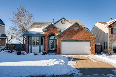 Highlands Ranch CO Single Family Home Under Contract: $475,000