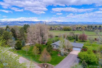 Boulder Single Family Home Active: 7849 Brockway Drive