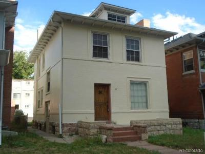Denver Single Family Home Under Contract: 916 North Lafayette Street