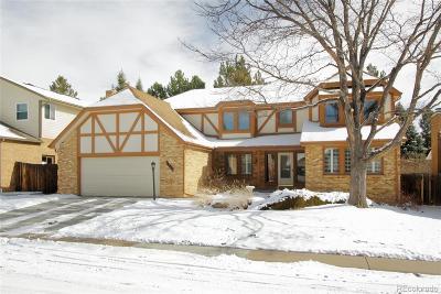 Centennial Single Family Home Under Contract: 7590 South Emerson Street