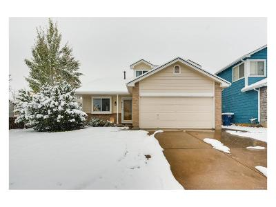 Centennial Single Family Home Under Contract: 4954 South Dunkirk Way