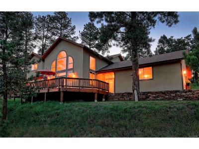Conifer Single Family Home Active: 27255 Stagecoach Road