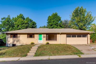 Denver CO Single Family Home Active: $351,500