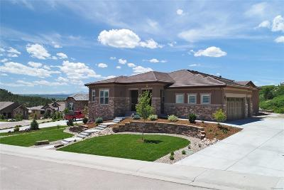 Castle Rock Single Family Home Under Contract: 5411 Water Oak Circle
