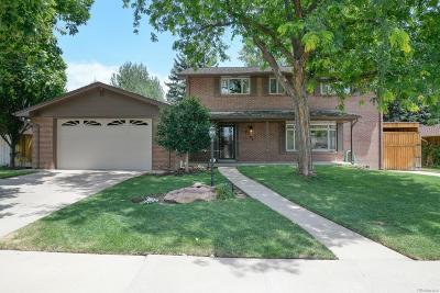 Denver Single Family Home Active: 2760 South Golden Way