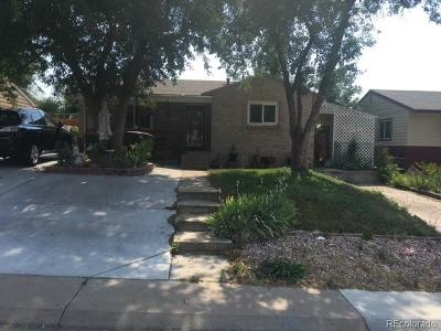 Denver County Single Family Home Active: 1584 South Clay Street