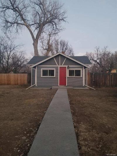 Denver Single Family Home Active: 1164 Wabash Street