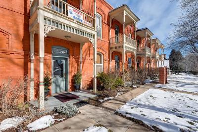 Boulder Condo/Townhouse Under Contract: 417 Mapleton Avenue #B