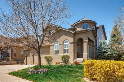 Castle Pines Single Family Home Under Contract: 12361 Jasper Pointe Way