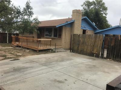 Aurora, Denver Single Family Home Active: 8068 Grace Court