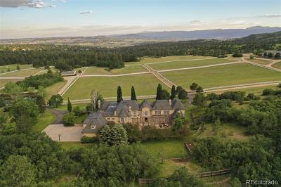 Castle Pines Residential Lots & Land Active: 7007 Daniels Park Road