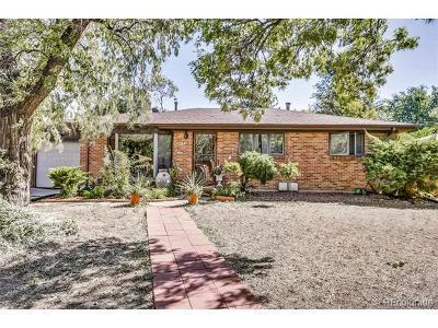 Aurora Single Family Home Active: 3148 Racine Street