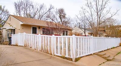 Colorado Springs Single Family Home Active: 1506 West Saint Vrain Street