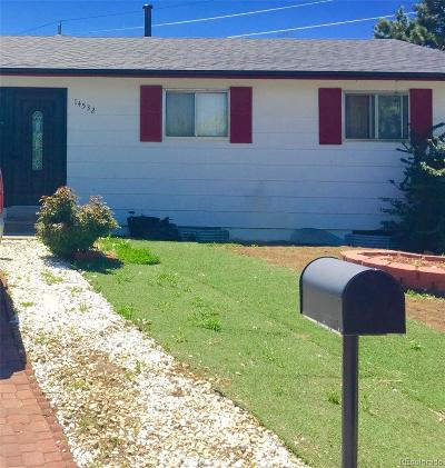 Aurora Single Family Home Under Contract: 14532 East 22nd Place