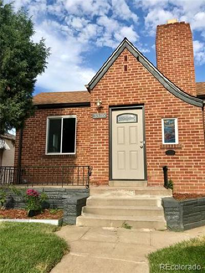 Denver Single Family Home Active: 3516 North Saint Paul Street