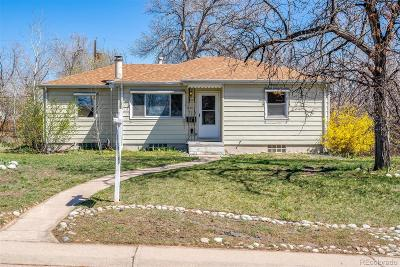 Littleton Single Family Home Under Contract: 5374 South Datura Street