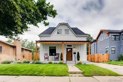 Denver Single Family Home Active: 4571 Vrain Street