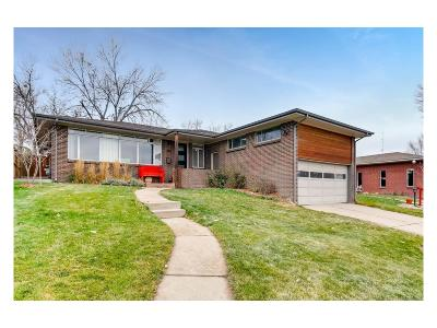 Denver Single Family Home Active: 385 South Jersey Street