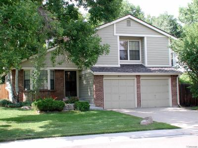 Arvada Single Family Home Active: 8121 Carr Court