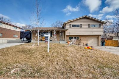 Northglenn Single Family Home Under Contract: 10764 Kalamath Street