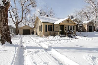 Westminster Single Family Home Active: 7239 Newton Street