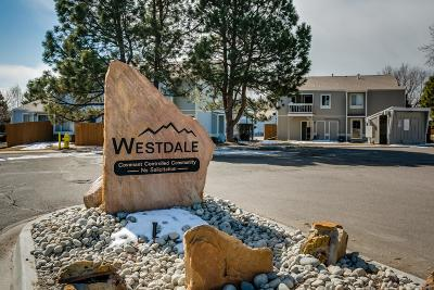 Arvada Condo/Townhouse Under Contract: 7996 Chase Circle #7