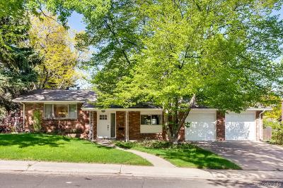Littleton Single Family Home Under Contract: 6901 South Spotswood Street