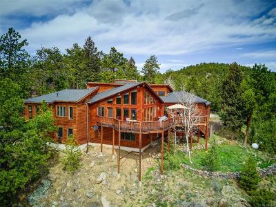 Jefferson County Single Family Home Active: 552 Holmes Gulch Road