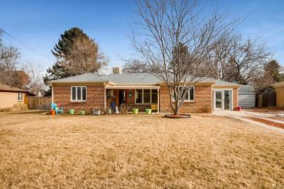 Wheat Ridge Single Family Home Active: 3616 Newland Street