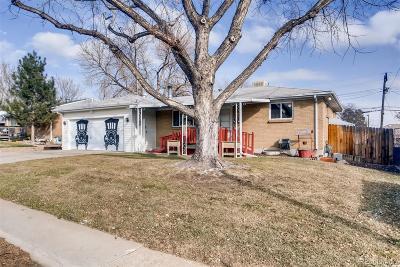 Denver Single Family Home Active: 7938 Durango Street