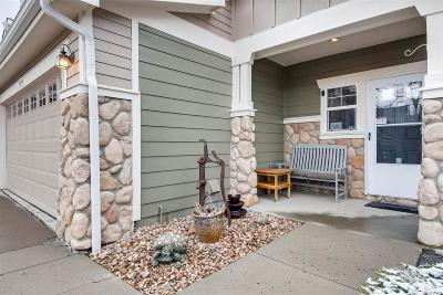 Castle Rock Condo/Townhouse Under Contract: 5779 Raleigh Circle