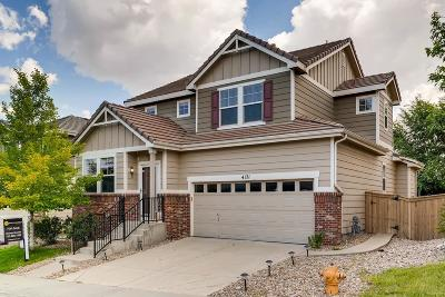 Highlands Ranch Single Family Home Under Contract: 4171 Aspenmeadow Circle