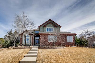 Castle Pines CO Single Family Home Active: $739,000
