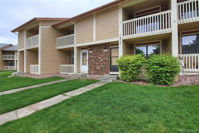 Northglenn Condo/Townhouse Under Contract: 11654 Community Center Drive #107