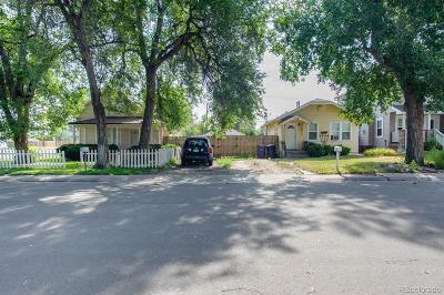 Denver Single Family Home Active: 800 South Krameria Street