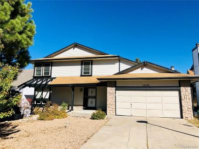 Aurora Single Family Home Active: 14675 East Walsh Drive